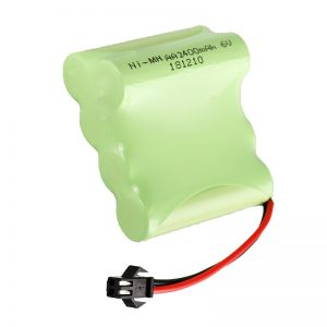 NiMH Wiederaufladbare Batterie AA2400 6V Wiederaufladbare elektrische Spielzeugwerkzeuge Batteriepack