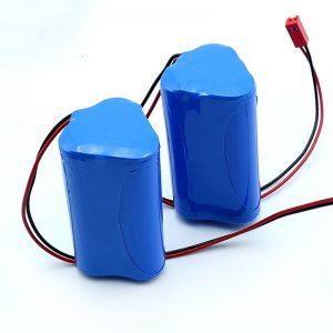 Wiederaufladbarer Li-Ion 3S1P 18650 10,8 V 2250 mAh Lithium-Ionen-Akku für medizinische Geräte