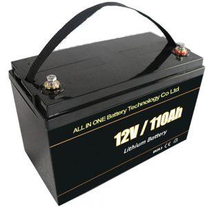 Blei-Säure-Ersatz-Solarbatterie 12V 110Ah Lifepo4 Lithiumbatterie