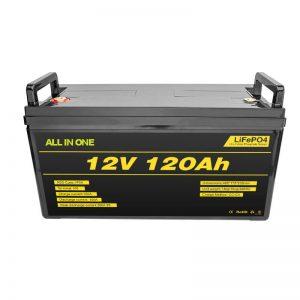 Lifepo4 BMS Lithium Battery Pack 12v 120ah Lifepo4 Lithium Ion Battery 12v