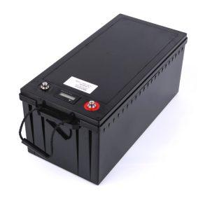 Kundenspezifischer Akku 24V 100AH 12V 200ah Lifepo4 Akku für Boot Solarenergie Speicher RV
