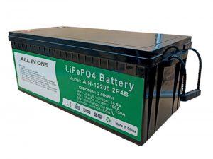 ALL IN ONE 2.56KWh 2000 Zyklen 12V Batterielebensdauer4 200ah Lithium Pack für Elektrofahrzeuge