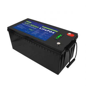Deep Cycle 12V / 24V / 36V / 48V 200Ah Solarspeicher USV 12V LiFePO4 Lithium-Speicherbatterien für Golfwagen