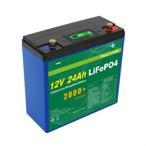 Solar Deep Cycle 24 V 48 V 24 Ah Lifepo4 Akku USV 12 V 24 Ah Batterie