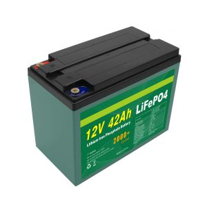 Wartung Kundenspezifisch Solar 12v 40ah 42ah Lifepo4 Cell Lifepo4 Batteriepack mit BMS