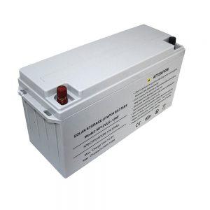 Energiespeicher LiFePO4-Batterie 12V 80Ah Solarbatterien für Netzteile