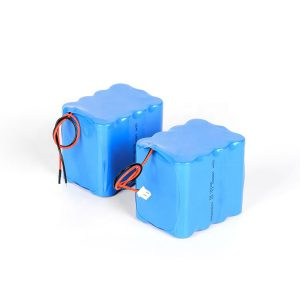 Kundenspezifischer wiederaufladbarer Lithium-Akku 18650 Hochentladungs-3s4p 12v-Li-Ionen-Akku