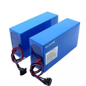 ALL IN ONE Zellen 13S7P 18650 48V 20.3ah elektrische Fahrradbatterie