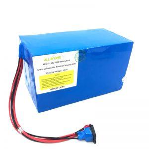 Kundenspezifischer 18650 48V 40Ah Lithium-Akku für E-Bike, E-Boot, Elektroroller