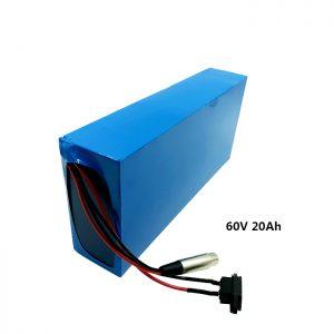 Kundenspezifischer Akku 60v 20ah EV Batterie Lithium aufladen