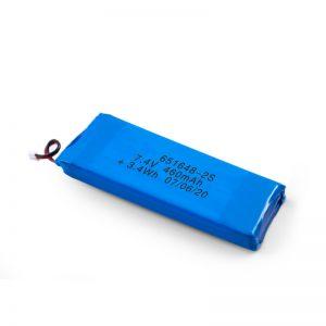 Wiederaufladbarer LiPO-Akku 651648 3,7 V 460 mAh / 3,7 V 920 mAH / 7,4 V 460 mAh