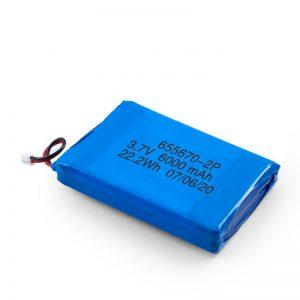 3,7 V / 7,4 V 3000 mAh Li Lithium-Polymer-Batterie 3,7 V mit 3000 mAh
