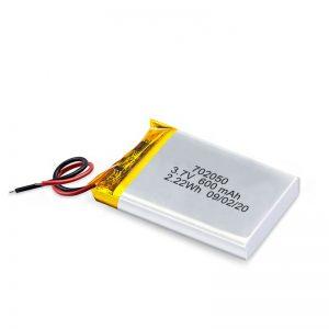 China Großhandel 3.7V 600Mah 650Mah Mini Li-Polymer Lithium-Batterie Wiederaufladbare Batterien Pack für Spielzeugauto