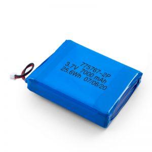 Benutzerdefinierte 3,7 V 2450 2600 3900 4000 4500 4700 5000 6000 9000Mah Polymer Lipo Batterie