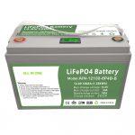 ALLES IN EINEM Deep Cycle 12V100Ah LiFePO4-Akku mit intelligentem BMS für Energiespeichersysteme für den Haushalt