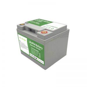 ALL IN ONE 2000 Zyklen 12V50Ah LiFePO4-Batterie mit intelligentem BMS für das Energiespeichersystem für Haushalte