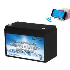 Niedrigtemperatur-LiFePO4-Batterie 12V 100AH