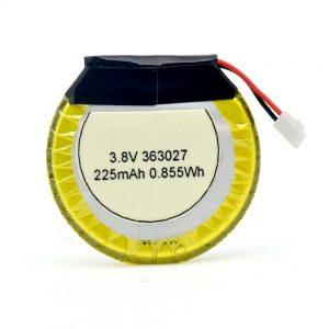 LiPO kundenspezifische Batterie 363027 3.7V 225mAH