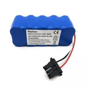 12-V-Ni-mh-Batterie für Staubsauger TEC-5500, TEC-5521, TEC-5531, TEC-7621, TEC-7631